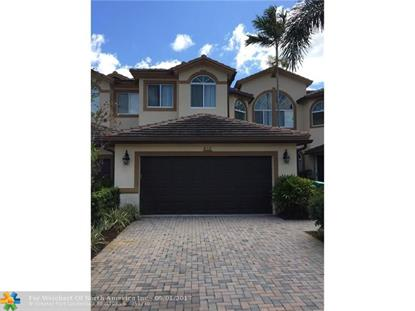 812 W Village Cir # 812 Davie, FL MLS# F10060758