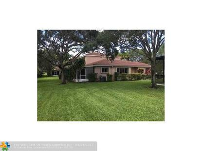 1692 SW 109th Ter # 1692 Davie, FL MLS# F10064999