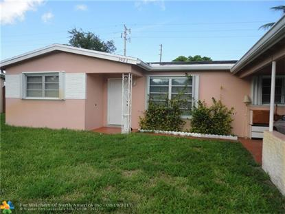 1921 NW 61st Ave  Hollywood, FL MLS# F10067145