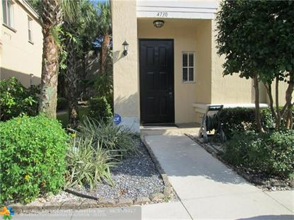 4730 NW 57th Pl # 4730 Coconut Creek, FL MLS# F10067862