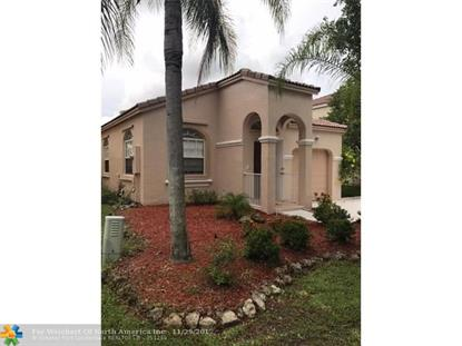 15219 NW 7th St  Pembroke Pines, FL MLS# F10070992