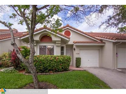 7346 Pinewalk Dr South  Margate, FL MLS# F10071876