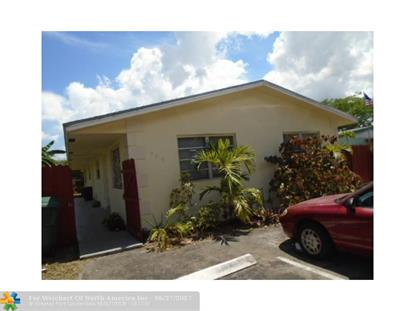706 NW 42nd St  Oakland Park, FL MLS# F10074176