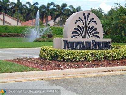 10600 NW 14th St  Plantation, FL MLS# F10076753