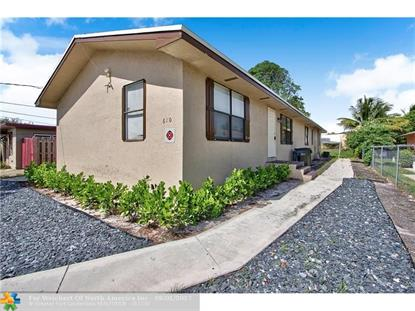 610 SE 2nd Ave  Delray Beach, FL MLS# F10084176