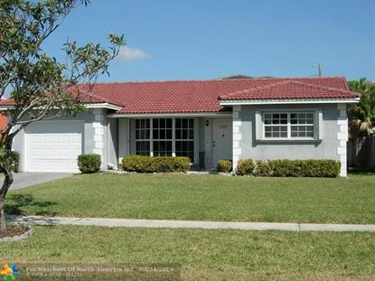 1305 Funston St  Hollywood, FL MLS# F10112308