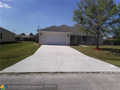 2062 SW Aquarius Lane , Port Saint Lucie, FL