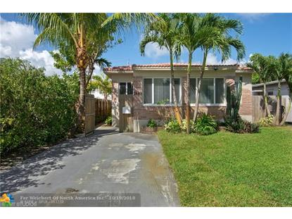1643 FUNSTON ST  Hollywood, FL MLS# F10115580