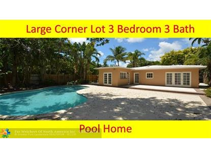 1500 NE 16th Ter  Fort Lauderdale, FL MLS# F10117548