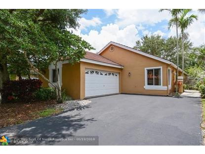 10054 NW 2nd St  Plantation, FL MLS# F10122023