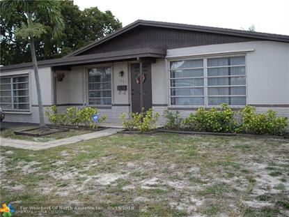 1031 NW 48th St  Fort Lauderdale, FL MLS# F10123719