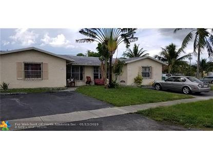 5861 NW 19th Ct  Lauderhill, FL MLS# F10131922
