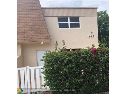 8081 NW 11th St  Margate, FL MLS# F10134206