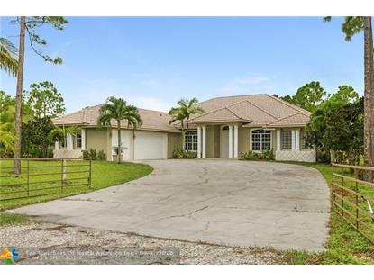 14841 63rd Ct  Loxahatchee, FL MLS# F10139995