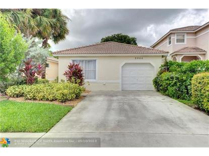 3944 NW 89th Ave  Coral Springs, FL MLS# F10140253