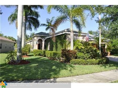 1082 Tupelo Way  Weston, FL MLS# F10140286