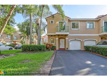 12602 NW 14th St  Sunrise, FL MLS# F10143791