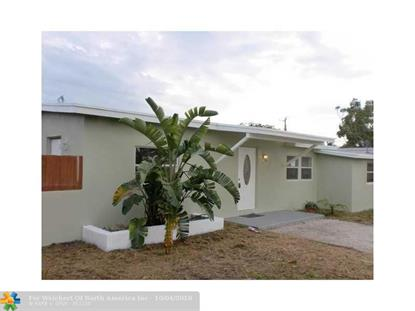 1546 NE 53rd Ct  Pompano Beach, FL MLS# F10143828