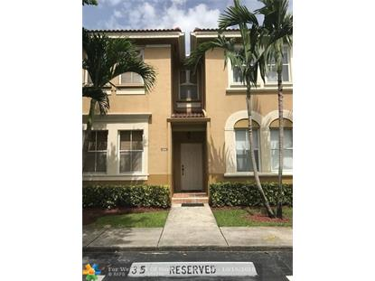 4146 SW 158th Ave  Miramar, FL MLS# F10146109