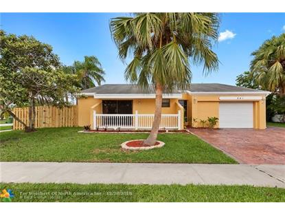 541 SW 168th Ave  Weston, FL MLS# F10147249