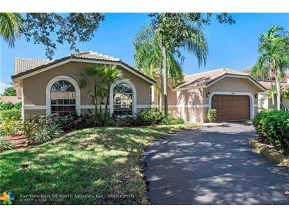 4732 NW 100th Ter  Coral Springs, FL MLS# F10147503