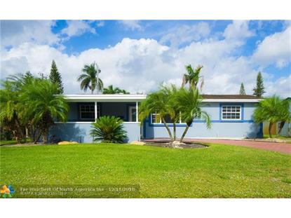 7681 Farragut St  Hollywood, FL MLS# F10153301