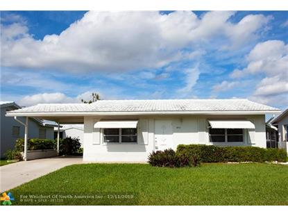 6711 NW 70th Street  Tamarac, FL MLS# F10153388