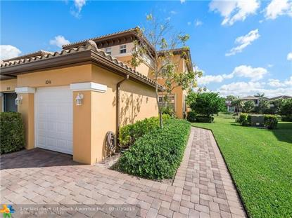 8246 NW 127th Ln  Parkland, FL MLS# F10156523
