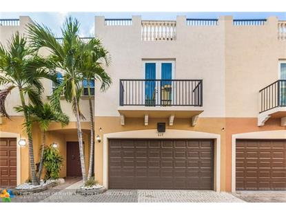 607 NE 11th Ave  Fort Lauderdale, FL MLS# F10158162