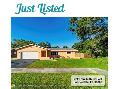2711 NW 69th Ct  Fort Lauderdale, FL MLS# F10213330