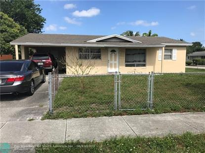 2100 NW 27th Ter  Fort Lauderdale, FL MLS# F10227354