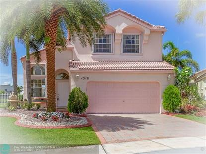 1318 NW 157th Ave  Pembroke Pines, FL MLS# F10235701