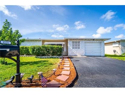 1020 NW 49th St  Deerfield Beach, FL MLS# F10235789