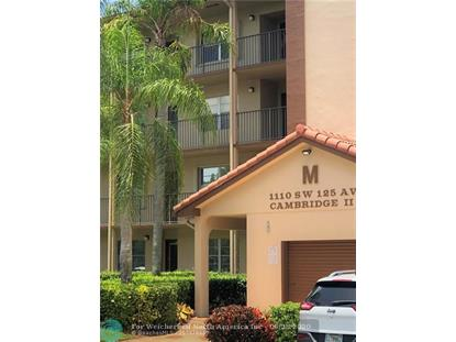 1110 SW 125 AVE  Pembroke Pines, FL MLS# F10236193