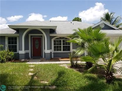 17948 35th Pl N  Loxahatchee, FL MLS# F10236680