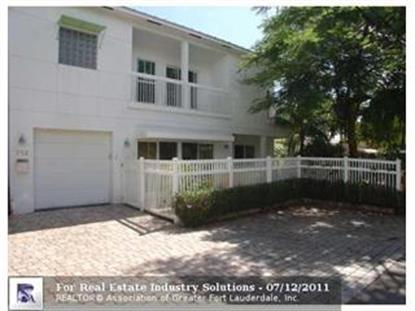 712 NE 17TH RD , Fort Lauderdale, FL