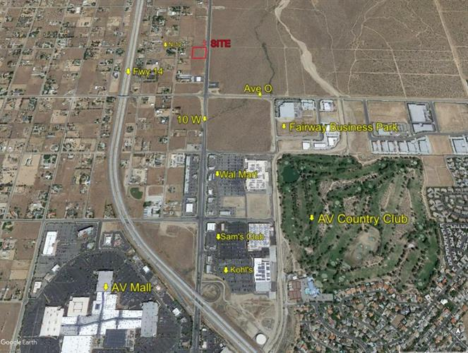 10th St West, At Ave N12, Palmdale, CA 93551