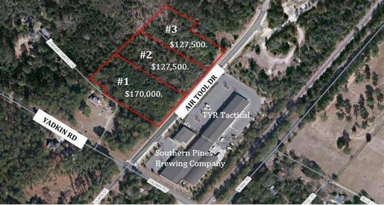 Lot 3 Air Tool Drive, Southern Pines, NC 28387