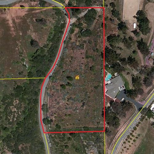 2.63 acres on Anthony Rd, Valley Center, CA 92082