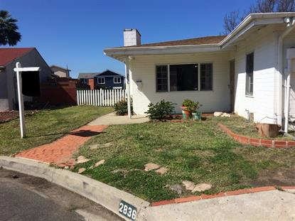 2836 Clairemont Ct San Diego, CA MLS# 190002739