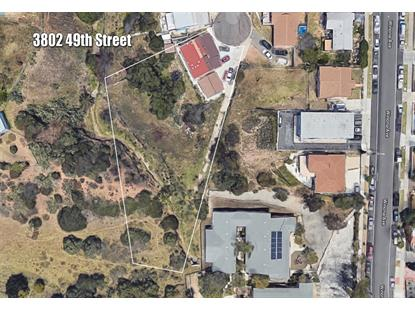 3802 49th St San Diego, CA MLS# 190016562