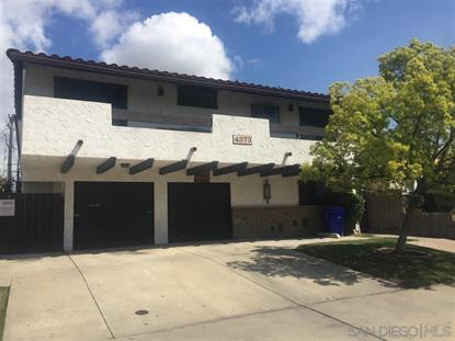 4373 35th Street San Diego, CA MLS# 190033384