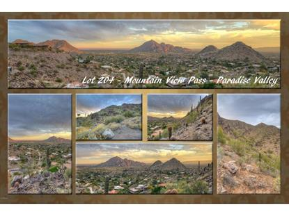 7700 N Mountain View Pass , Paradise Valley, AZ