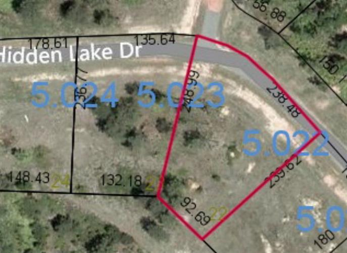 Lot 22 HIDDEN LAKE DRIVE, Tallassee, AL 36078