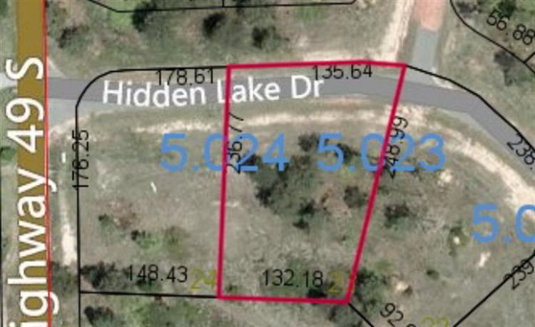 Lot 23 HIDDEN LAKE DRIVE, Tallassee, AL 36078