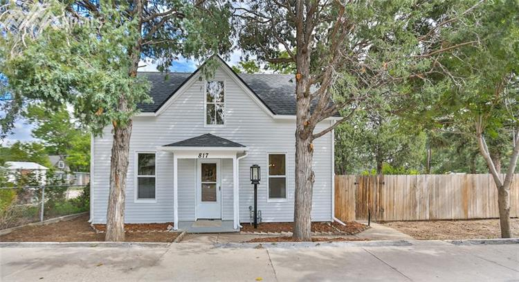 817 N Spruce Street, Colorado Springs, CO 80905