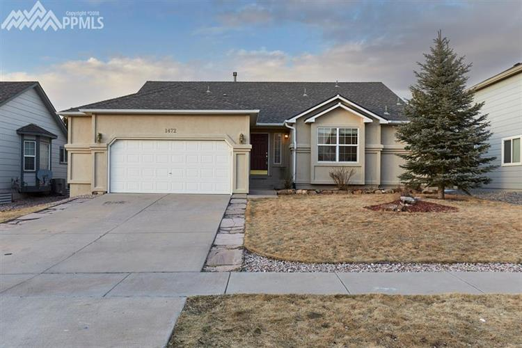 1472 Lookout Springs Drive, Colorado Springs, CO 80921