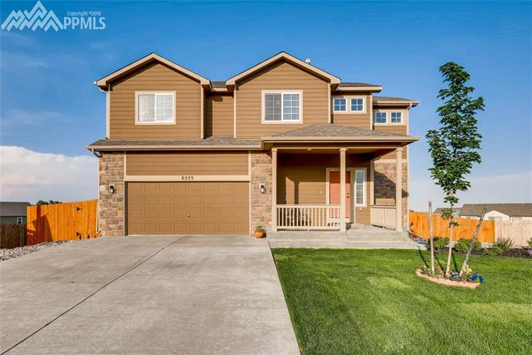 6555 Dancing Star Way, Colorado Springs, CO 80911