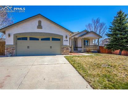 4190 Coolwater Drive Colorado Springs, CO MLS# 1454180