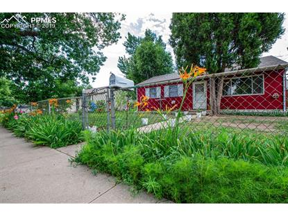 2109 S Corona Avenue Colorado Springs, CO MLS# 1816205